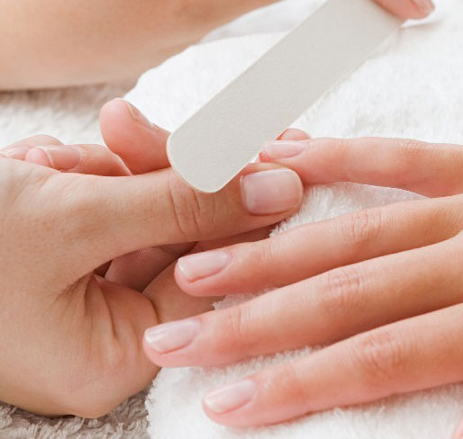 Polished Mobile Nails - Treatments File and Polish