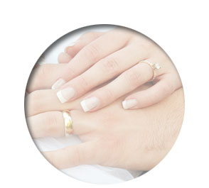 Polished Mobile Nails - manicured nails for weddings